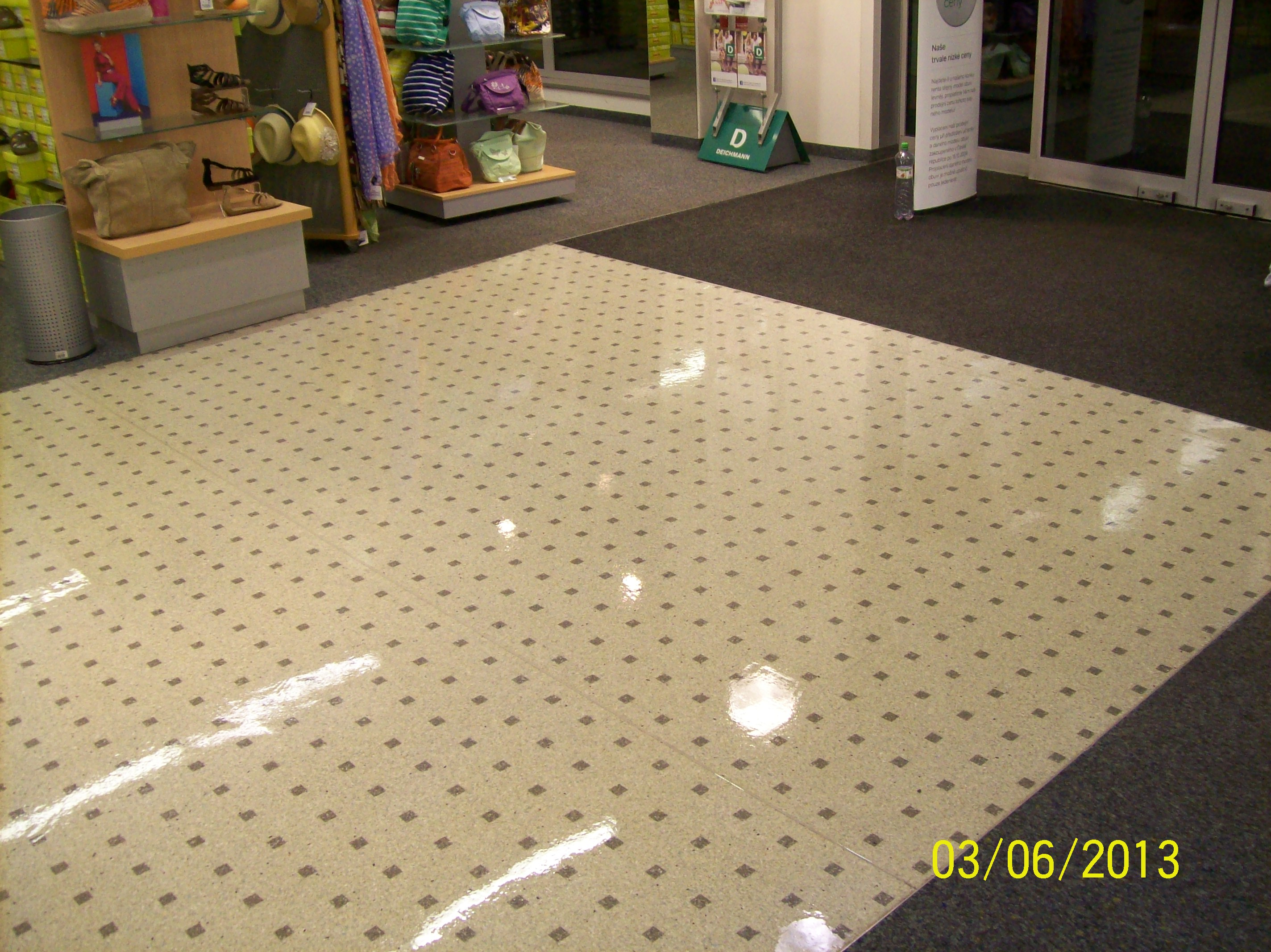 voskování podlah ústí