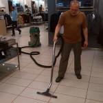 strojní mytí podlah