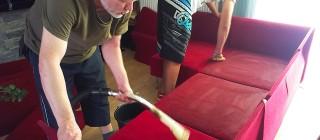 Hloubkové čištění sedaček Praha