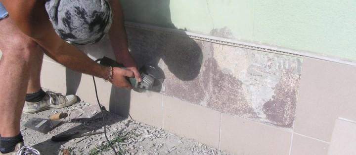 opravování fasády
